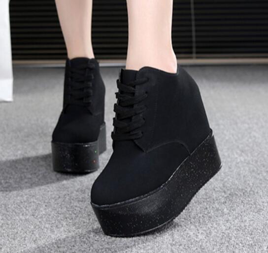 Chaussure École Cm 12 Valentine Talons Plate Wedge Mujer Femmes Dames Hauts Zapatos Toile forme rose De blanc Chaussures Noir Femme Z7Zrqdagxw
