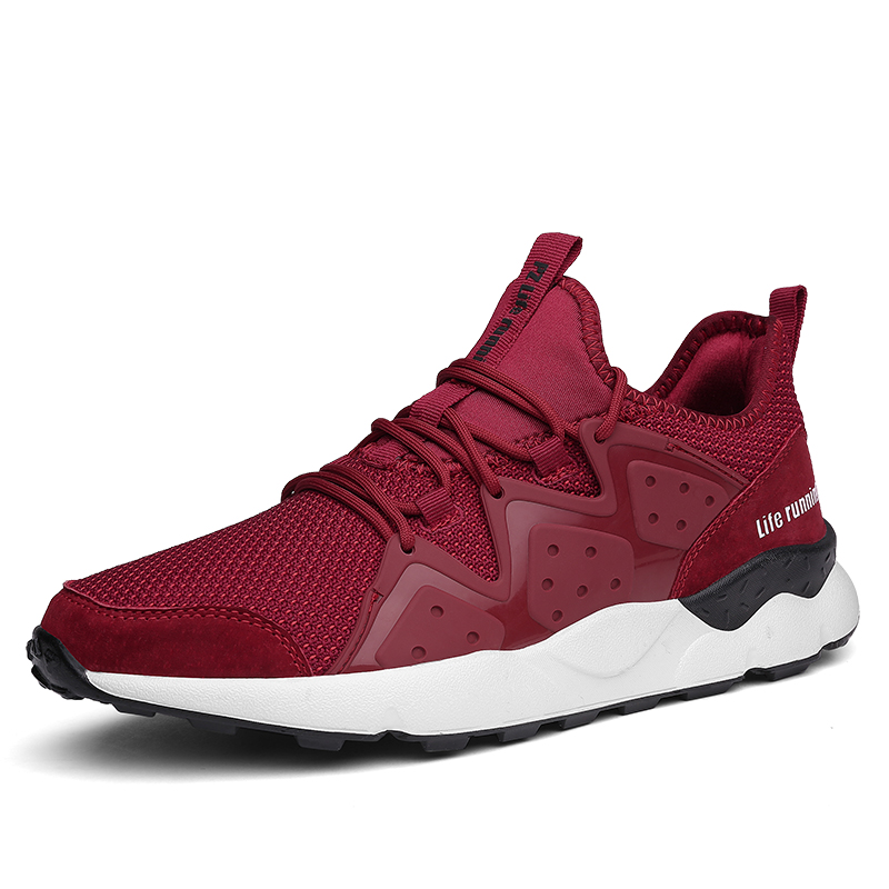 Joomra Lifestyle Running Shoes for Men Trainers Non-slip Bottom Mesh High quality Sneakers Shoes Men zapatos para correr