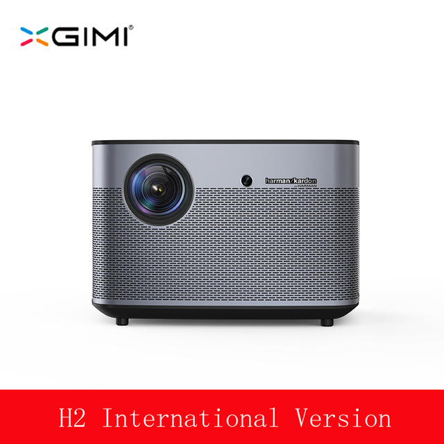 "XGIMI H2 Video Projector 4K Full HD 1350ANSI Lumens 1080p LED 300"" 3D Video Android Wifi Bluetooth Smart Theater HDMI 4K Beamer"
