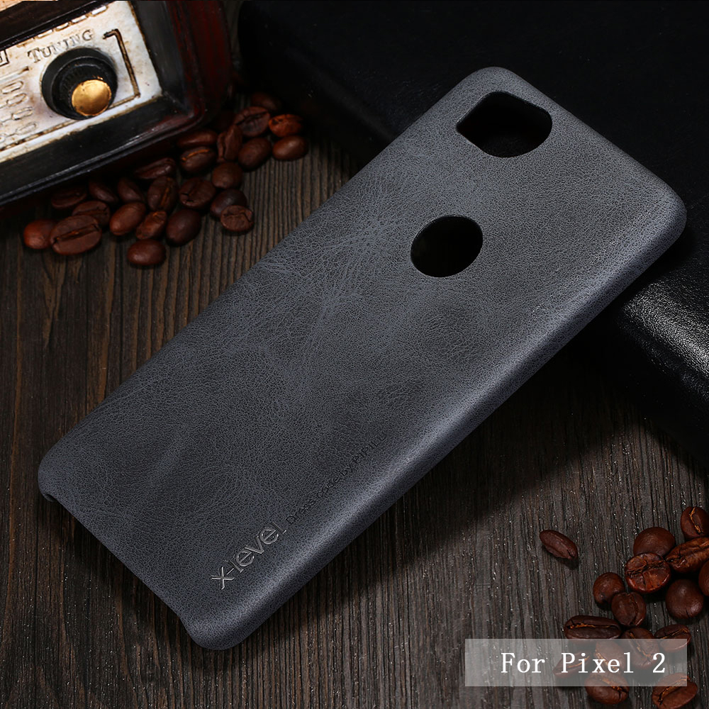 Brand New PU Leather Case For Google Pixel 2 Back Case Cover For Google Pixel 2 XL Vingate Leather Case Capa