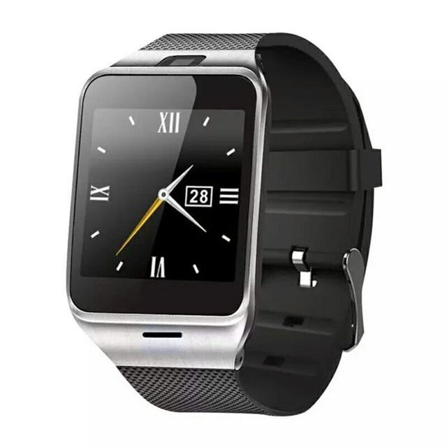 Aplus GV18 Smart Watch bluetooth с Камерой Android смотреть Первый поддержка NFC Телефон поддерживает sim-карты Smartwatch для смартфонов