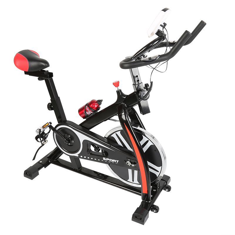 Fitness Cardio Exercise Bike Cycling Equipment Workout Gym Machine Body Training Bicycle Cardio Home Indoor Riding Sports HWC