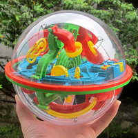 Large 100 Steps 3D Magic Intellect Maze Ball Track Puzzle Toy Perplexus Epic Game Children Adult