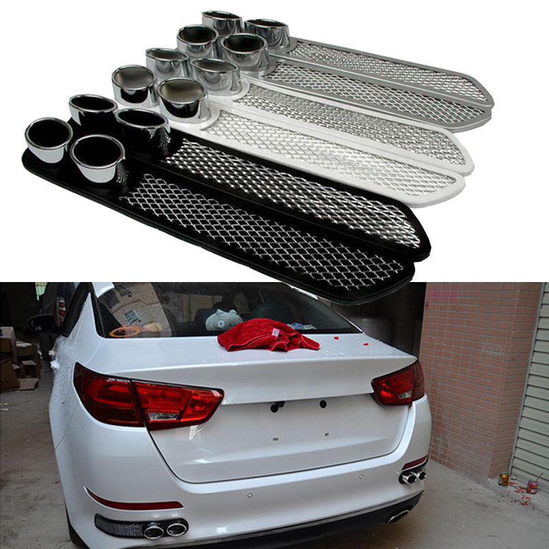 BOOMBLOCK Car 3D Cool Automobiles carbon Exhaust pipe Sticker For Skoda Octavia A7 A5 Audi a4 b6 a3 a6 c5 b8 b7 c6 q5 Lada BMW in Car Stickers from Automobiles Motorcycles