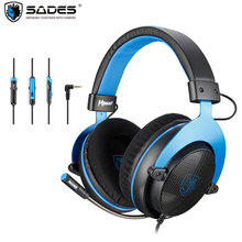 SADES Mpower Gaming Heaset 3.5mm Gamer Headphones With microphone For PC/Laptop/PS4/Xbox One)/Mobile/VR/Nintendo Switch Casque