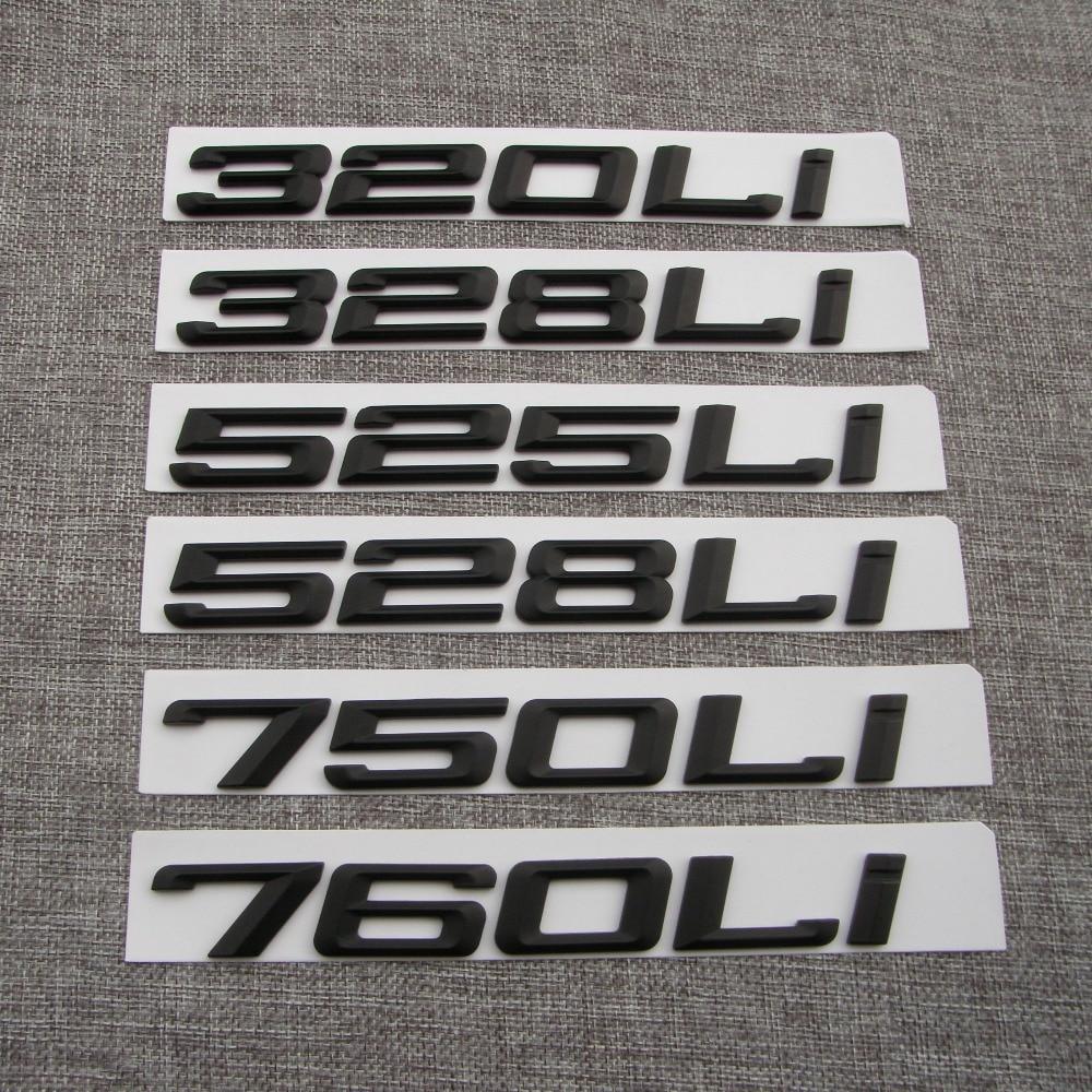 Черный АБС-пластик Буквы цифр Слово - Автозапчасти - Фотография 5