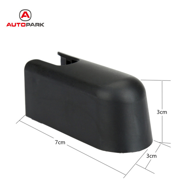 Hot Salblack Car Rear Wiper Arm Washer Cap Nut Cover For Ford Edge Lincoln Mkx Tz