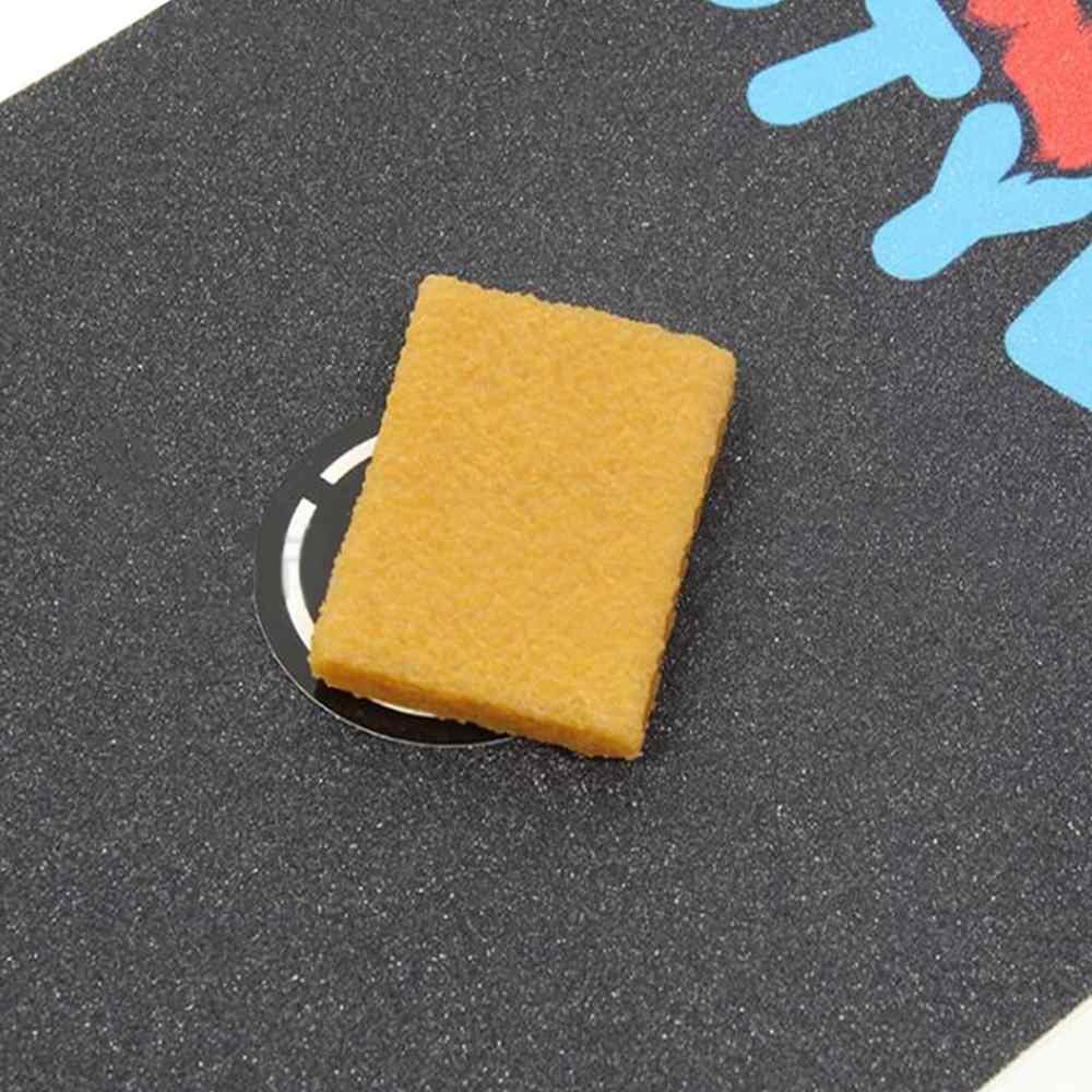 Fita do Aperto de borracha Skate Longboard Cleaner Removedor de Sujeira Limpeza Eraser Novo