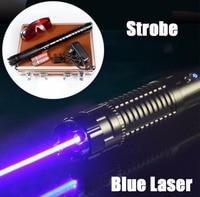 Горения лазерной указки для продажи 450nm 5000000 м синий лазерный указатель лазерной резки указатель древесины, горит портсигар резиновая указа