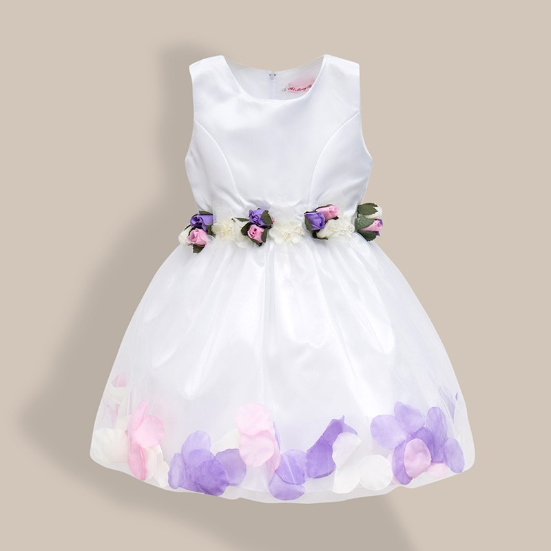 AiLe Rabbit  New Girls Wedding Dress Petal Flower Party Dress - Children's Clothing - Photo 5