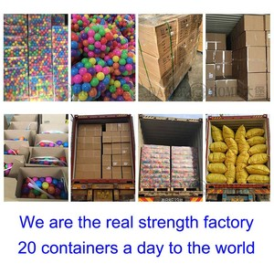 Image 5 - 200pcs/bag Eco Friendly Colorful Soft Plastic Water Pool Ocean Wave Ball Baby Funny Kids Toys Stress Air Ball Outdoor Fun Sports