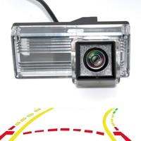 Intelligent Dynamic Trajectory Tracks Car Rear View Camera Reversing Backup Camera For Toyota Land Cruiser 100 Prado 120