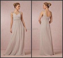Saias Femininas 2014 Neue Abendkleider Mode Abendkleid Sexy V-ausschnitt Breiten Spaghettibügel Lange Formale Kleider Vestido Longo