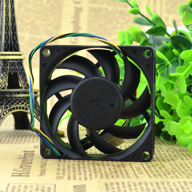 Free Shipping SUPERRED 7015 CHA7012EBS-OA-P 70mm 7cm DC 12V 0.5A 4Wire server inverter axial Cooling Fans
