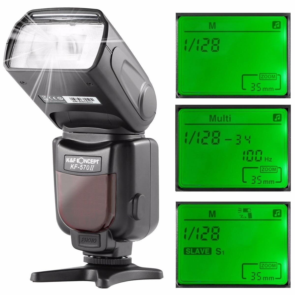 K & f concept kf-570 ii kamera wireless high speed flash speedlite - Kamera und Foto - Foto 4