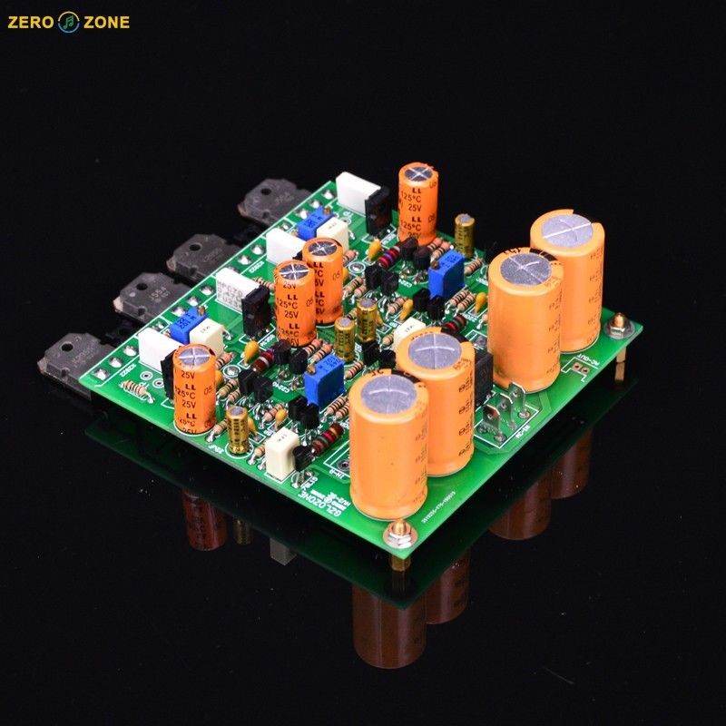 ZEROZONE Assembeld HV2 SE Class A Headphone amp board base on Audio Technica HA5000 L7-5