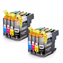 2Set LC223 LC221 Compatible Ink Cartridge For  DCP-J562DW/J4120DW/MFC-J480DW/J680DW/J880DW/J4620DW/J5720DW/J5320DW