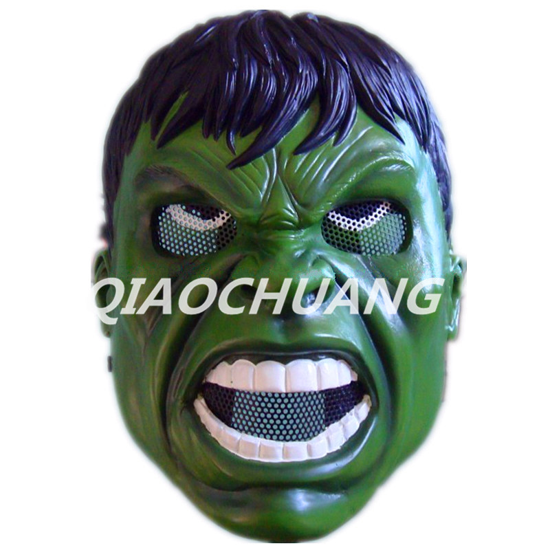 Avengers Superhero Hulk Mask Breathable Full Face Mask Robert Bruce Banner Helmet Halloween Cosplay Prop Halloween Costumes W150 2016 movie cosplay captain america civil war helmet cosplay black panther helmet t challa helmet mask party halloween prop