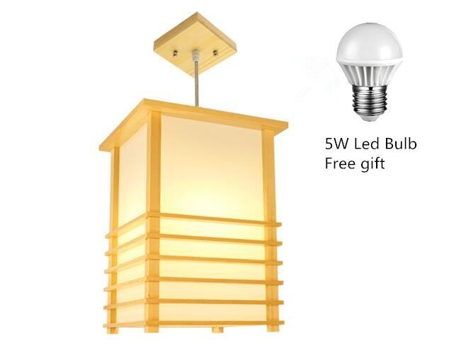 Japonská přívěsková světla Washitsu Tatami Výzdoba okenní - Vnitřní osvětlení