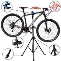 Adjustable Bike Repair Stand Parking 104 190 cm Steel Alloy + PP Mountain Bicycle Accessories Outdoor Bicycle Repair Tool