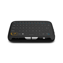 Newest H18 Full Touchpad 2.4GHz Wireless mini keyboard Gaming Air Mouse with Touch pad For Smart tv,ipad,Android Box,PC 2017 new mc 35ag wireless touch digital keyboard touch mouse 2 4g wireless mini keyboard touch pads for pc