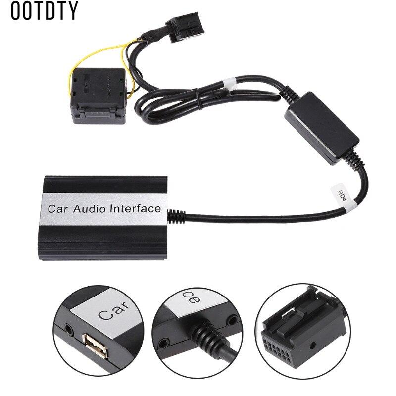 Nouveaux Kits mains libres Bluetooth pour voiture MP3 sans fil adaptateur Audio pour voiture 12 broches Interface pour RD4 Peugeot citroën - 3