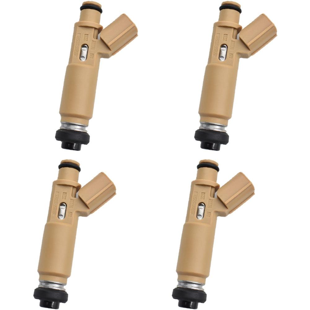 4PCS LOT Fuel Injector For COROLLA AVENSIS CELICA 1 8 LTR 1ZZ 1ZZFE OE 23250 22020