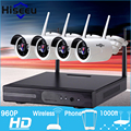960P Wireless CCTV System 4ch Powerful Wireless NVR IP Camera IR-CUT Bullet CCTV Camera Home Security System Surveillance Kits