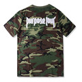 2017 NEW arrive men purpose tour Camouflage fashion men tops tee spring and summer men t shirt  Justin Bieber Purpose Tour tee