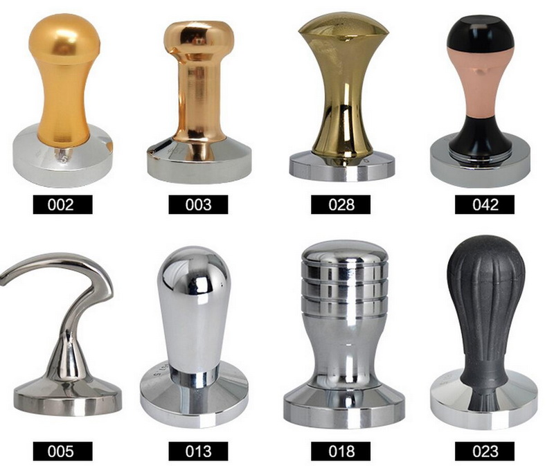 Free shipping stainless steel coffee tampers filter machine handle tamp bar coffee hammer