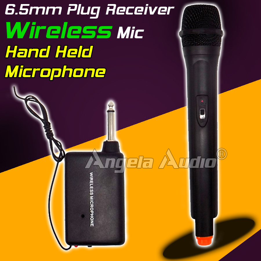Professionelle Drahtlose Mikrofon System FM Transmitter Receiver - Tragbares Audio und Video