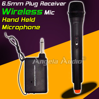 Professional Wireless Microphone System FM Transmitter Receiver Handheld Stereo Dynamic Mic For Karaoke KTV Singing Computer DJ