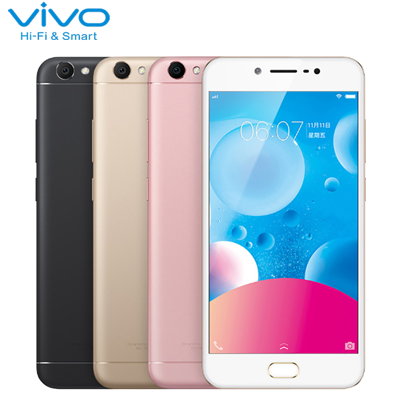 Original Vivo Y67 Cell Phone 5 5 inch 4GB RAM 32GB ROM MTK6750 Octa Core Android