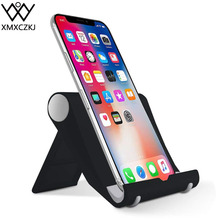 XMXCZKJ Adjustable Desk Tablet Holder Multi-angle Stand Accessories for iPhone X 8 7 Plus phone  Xiaomi