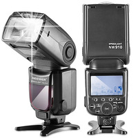 Neewer NW910/MK910 i TTL High Speed Sync 1/8000s HSS LCD Display Speedlite Master/Slave Flash for Nikon DSLR Cameras