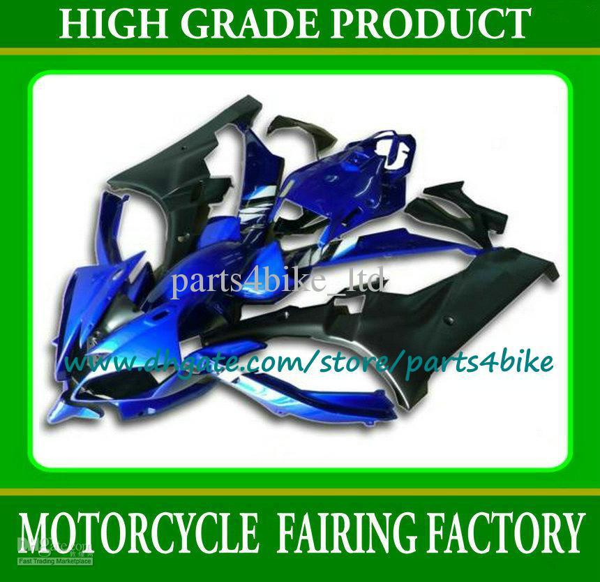 !Motorcycle gas tank cap blue farings YZF R6 06 07 YAMAHA YZFR6 2006 2007 bodywork kit Plastic s