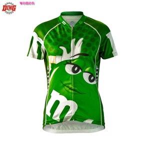 Image 3 - 新しい女性サイクリングジャージートップバイクウエア半袖レッドイエローグリーンサイクリング服チームropa ciclismo mtbクラシック服