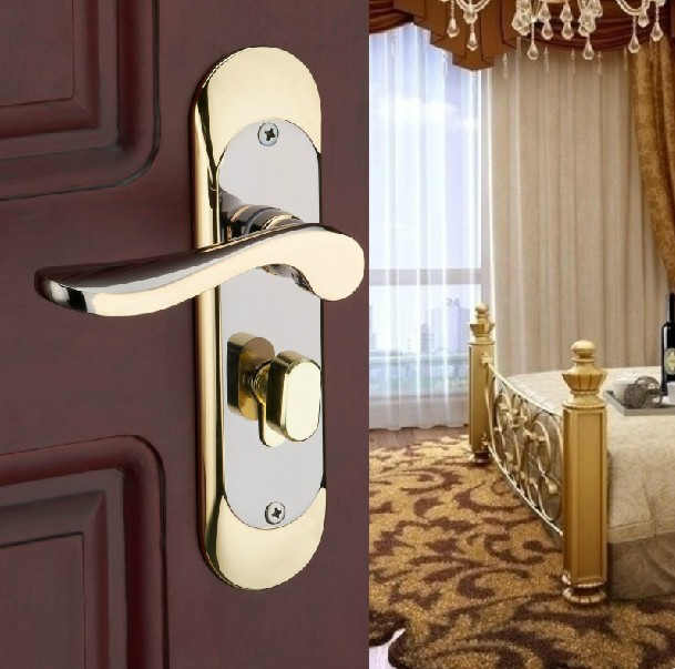 2013 The Cost Price Gate Lock The Bedroom Door Lock Hold