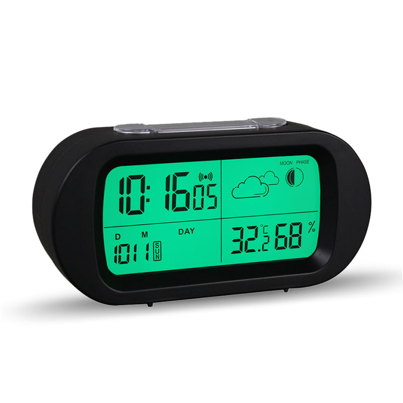 Clocks Hot Sale Led Digital Alarm Clock Backlight Snooze Mute Calendar Desktop Electronic Bcaklight Table Clocks Desktop Clock Clear-Cut Texture