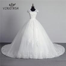 100% foto real em estoque moda laço flor querida fora do branco sexy vestido de casamento muçulmano para noivas vintage applique lantejoulas