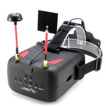"""จัดส่งฟรี! E Achine VR D2 5 """"Raceband 5.8กรัม40chหลากหลายFPVแว่นตาDVRเลนส์ปรับ"""