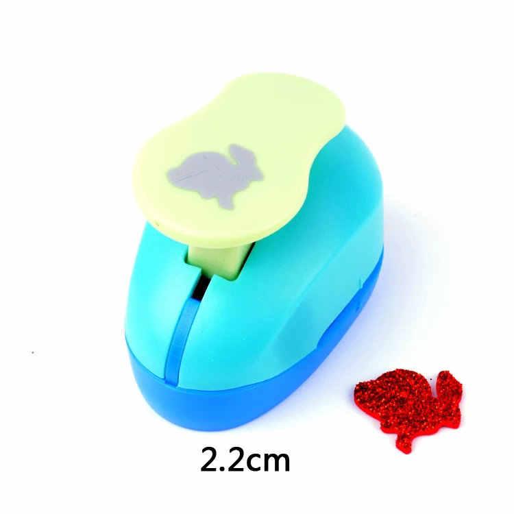 """Nouveau 1 """"(2.2 cm) lapin papier mousse poinçon artisanat poinçon pour carte de voeux à la main Scrapbook à la main poinçons bricolage jouet EVA perforateur"""