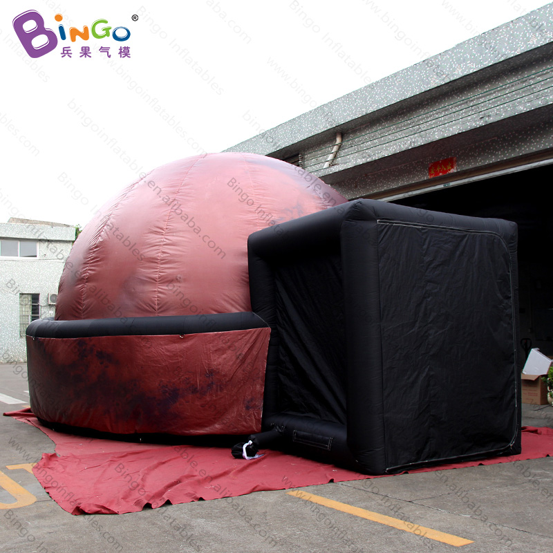 Useful Personalized 9x7x4.5 Inflatable Projection Dome Tent / Inflatable Projection Tent / Inflatable Oxford Tent Toys