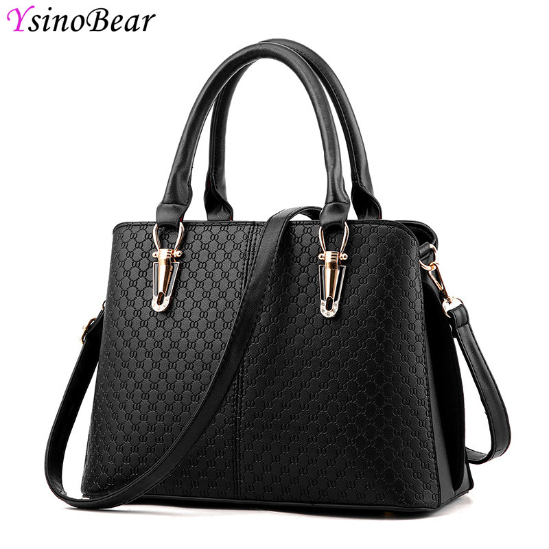 YsinoBear High Quality PU Leather Bags Classic Handbags Women Famous Brands Luxury Women Bags Designer Messenger Shoulder Bag hama hama th50