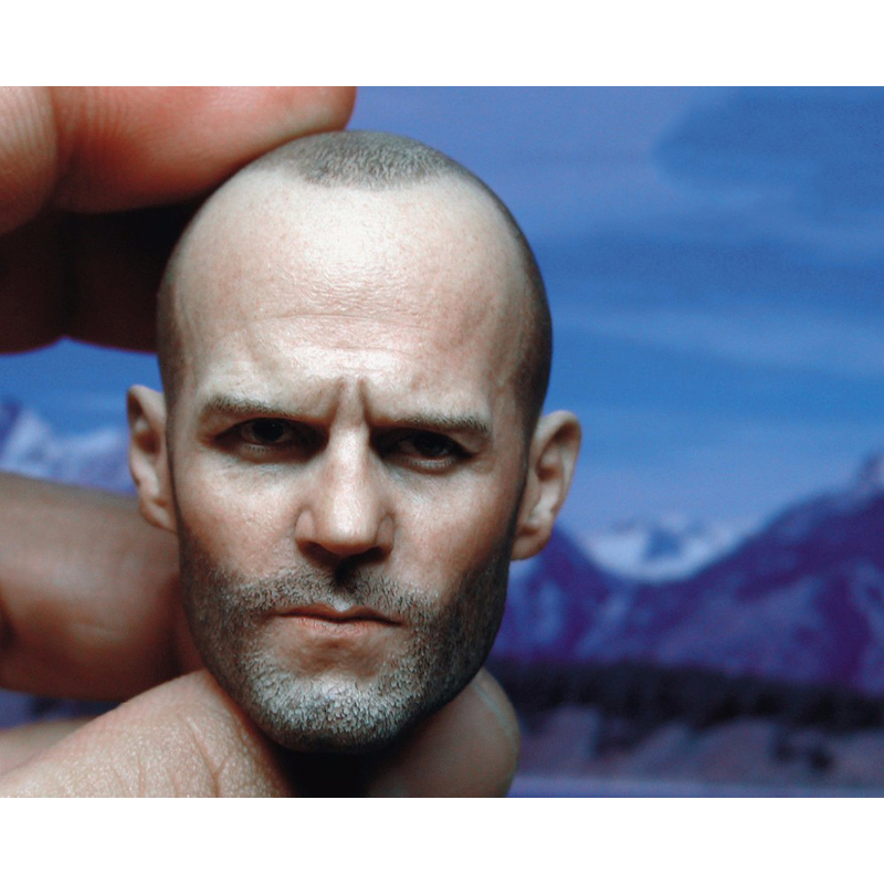 "Man Star Jason Statham Male Head Sculpts 1/6 BT012 Model Toys For 12"" Action Figure Body Accessory"