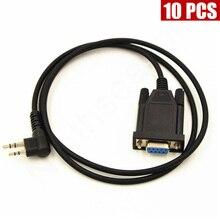 10PCS Programming Cable For HYT Hytera Walkie Talkie TC500 TC600 TC700 TC610