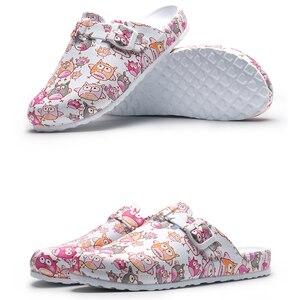 Image 4 - Ultralite скраб тапочки медицинские башмаки хирургические Босоножки кормящих Сабо; Нескользящие домашние тапочки Токио супер сцепление рабочая обувь для медсестер;