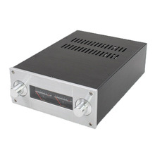 DIY amplifier case 222*92*308mm WA53 Full aluminum amplifier chassis / Pre amplifier case / AMP Enclosure / case / DIY box