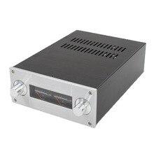 DIY amplifikatör kutusu 222*92*308mm WA53 Tam alüminyum amplifikatör şasi/Ön amplifikatör durumda/ AMP Muhafaza/kutu/DIY kutusu