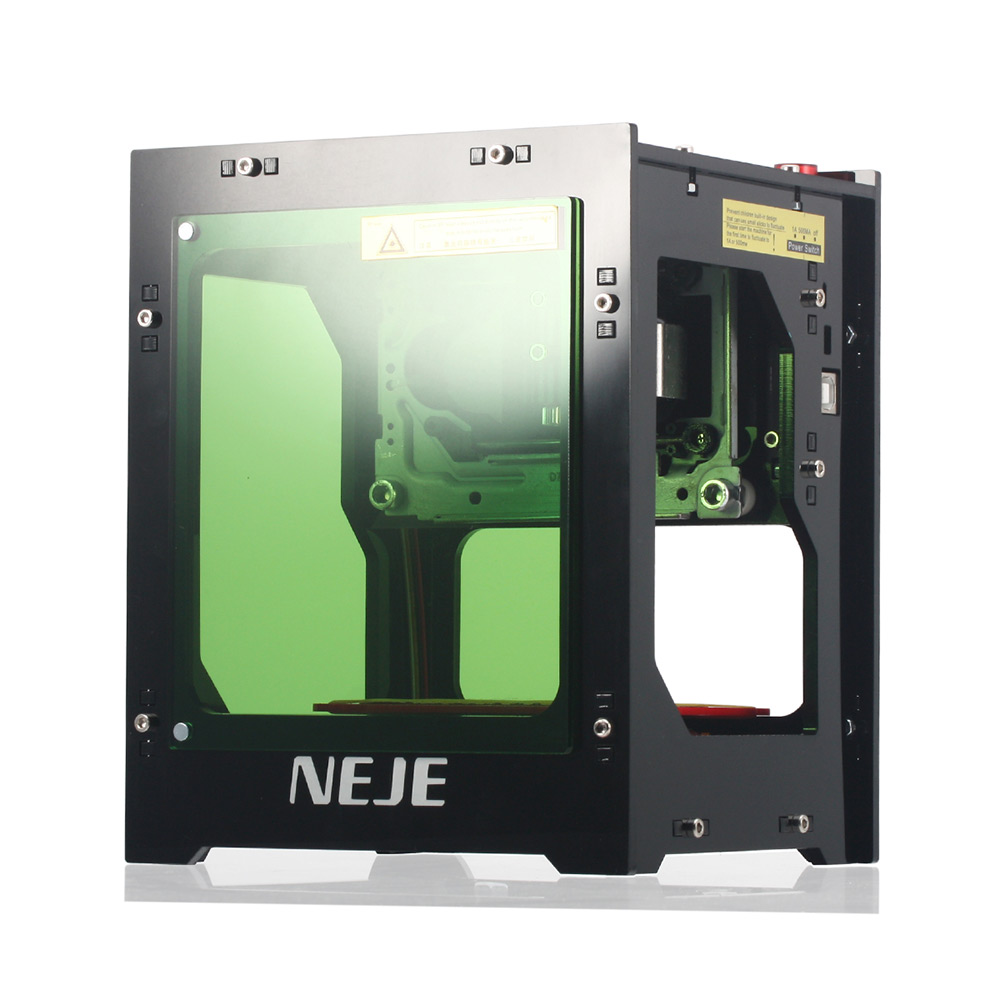 NEJE DK BL1500mw Laser Engraver Bluetooth 4.0 Support WIN 7 / XP / 8 / 10 / iOS 9.0 DIY Print 3D Mini Laser Engraving Machine